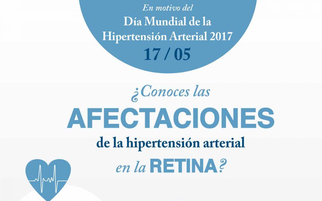 ¿La hipertensión arterial afecta a tu retina?