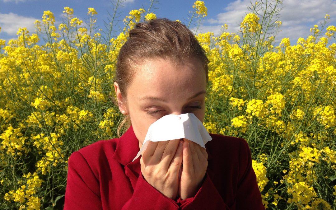 Alergias primaverales y uso de lentillas