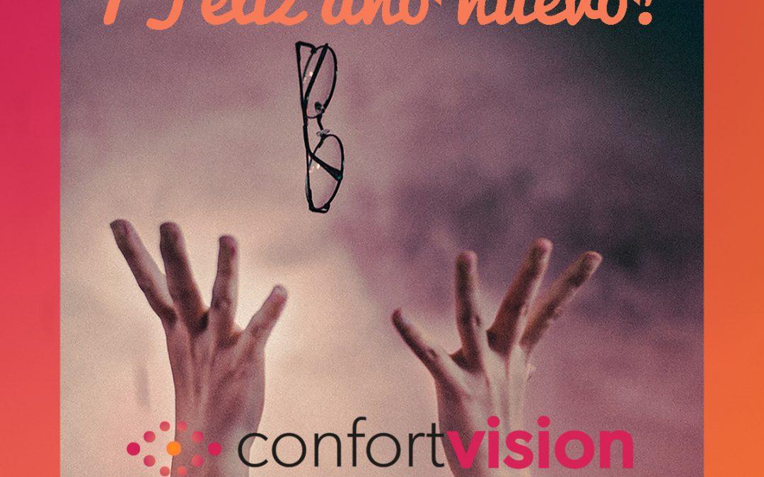 Feliz 2020 de parte del equipo de Confort Visión