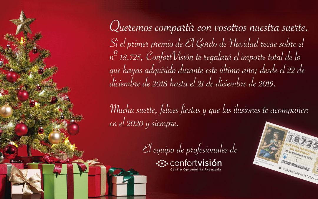 ¡Feliz Navidad de parte del equipo de Confort Visión!